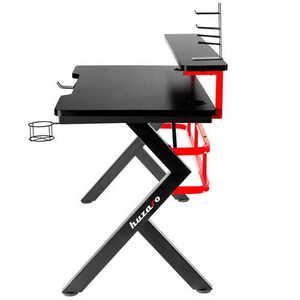 Ultra modern gaming desk HZ-Hero 5.0 Red small 1