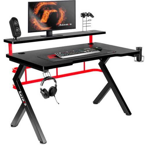 Ultra modern gaming desk HZ-Hero 5.0 Red