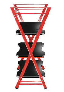 HZ-Iron 3.0 Red gaming rack small 1