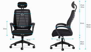 MA-Manager 2.0 Black office chair small 3