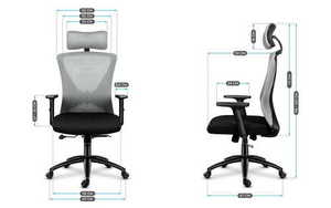 Office chair MA-MANAGER 3.0 GRAY small 3