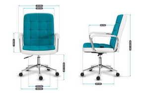 MA-Future 4.0 Turq armchair. Mesh small 3