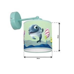 Wall lamp Delfinka Finka Mini 1x E27 small 6