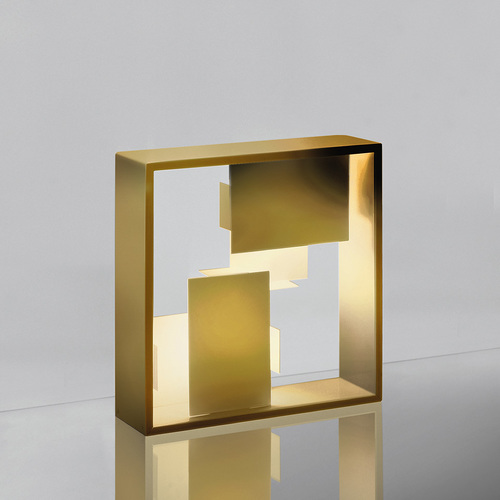 Table lamp Artemide FATO gold