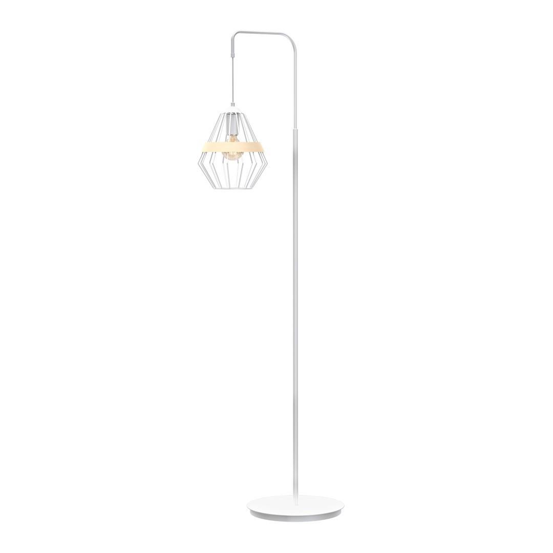 Standing Lamp Cliff White 1x E27