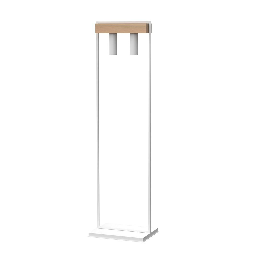 Standing Lamp West White 2x Gu10