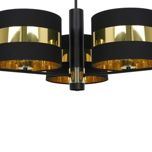 Ceiling Lamp Palmira Black / Gold 3x E27 60 W small 3