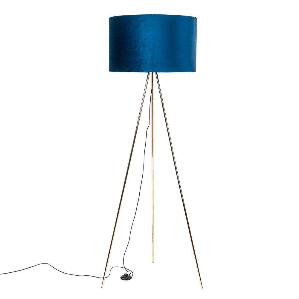 Floor Lamp Inga H06 Gd Bk