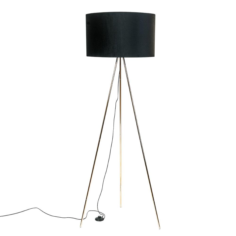 Floor Lamp Inga H06 Gd Bl