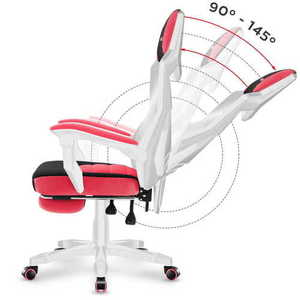 The ultra-comfortable HUZARO COMBAT 3.0 Pink Gaming Armchair small 7