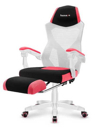 The ultra-comfortable HUZARO COMBAT 3.0 Pink Gaming Armchair