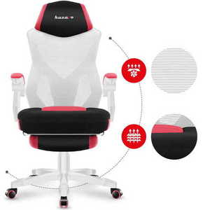 The ultra-comfortable HUZARO COMBAT 3.0 Pink Gaming Armchair small 5