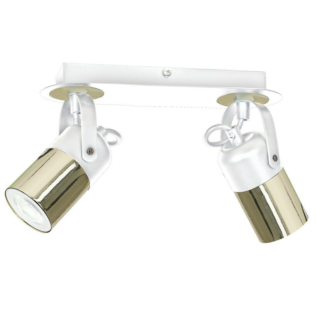Ceiling Lamp Wilson White 2x Gu10