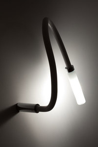 Wall lamp Fabbian SNAKE WHITE TIP D63G0102 small 5