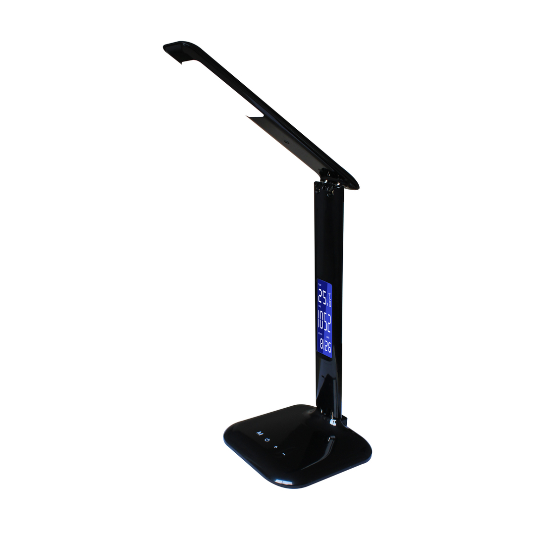 H1408 S Bck Desk Lamp Black / Black