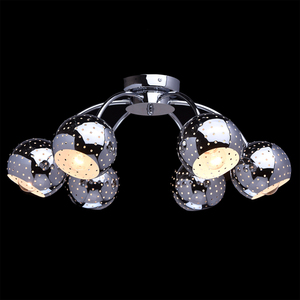 Hanging lamp Cosmos Megapolis 6 Chrome - 228012606 small 2