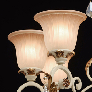 Bologna Country 8 Beige Chandelier - 254013808 small 4