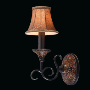 Wall lamp Bologna Country 1 Brown - 254021701 small 1