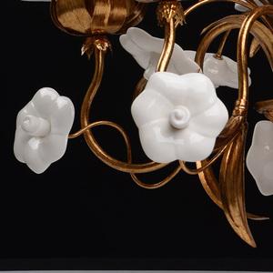 Chandelier Sicily Flora 5 Brass - 282010605 small 10