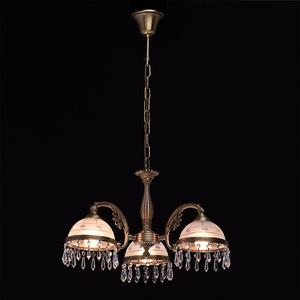 Hanging lamp Amanda Classic 3 Brass - 295016303 small 2