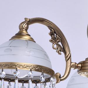 Hanging lamp Amanda Classic 3 Brass - 295016303 small 5