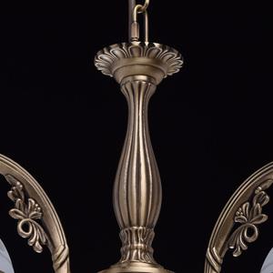 Hanging lamp Amanda Classic 3 Brass - 295016303 small 6