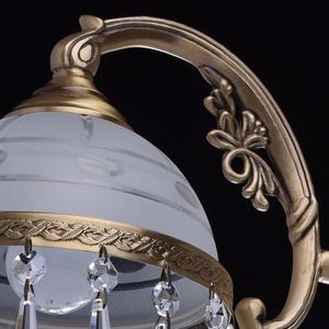 Hanging lamp Amanda Classic 3 Brass - 295016303 small 8