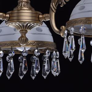 Hanging lamp Amanda Classic 3 Brass - 295016303 small 9