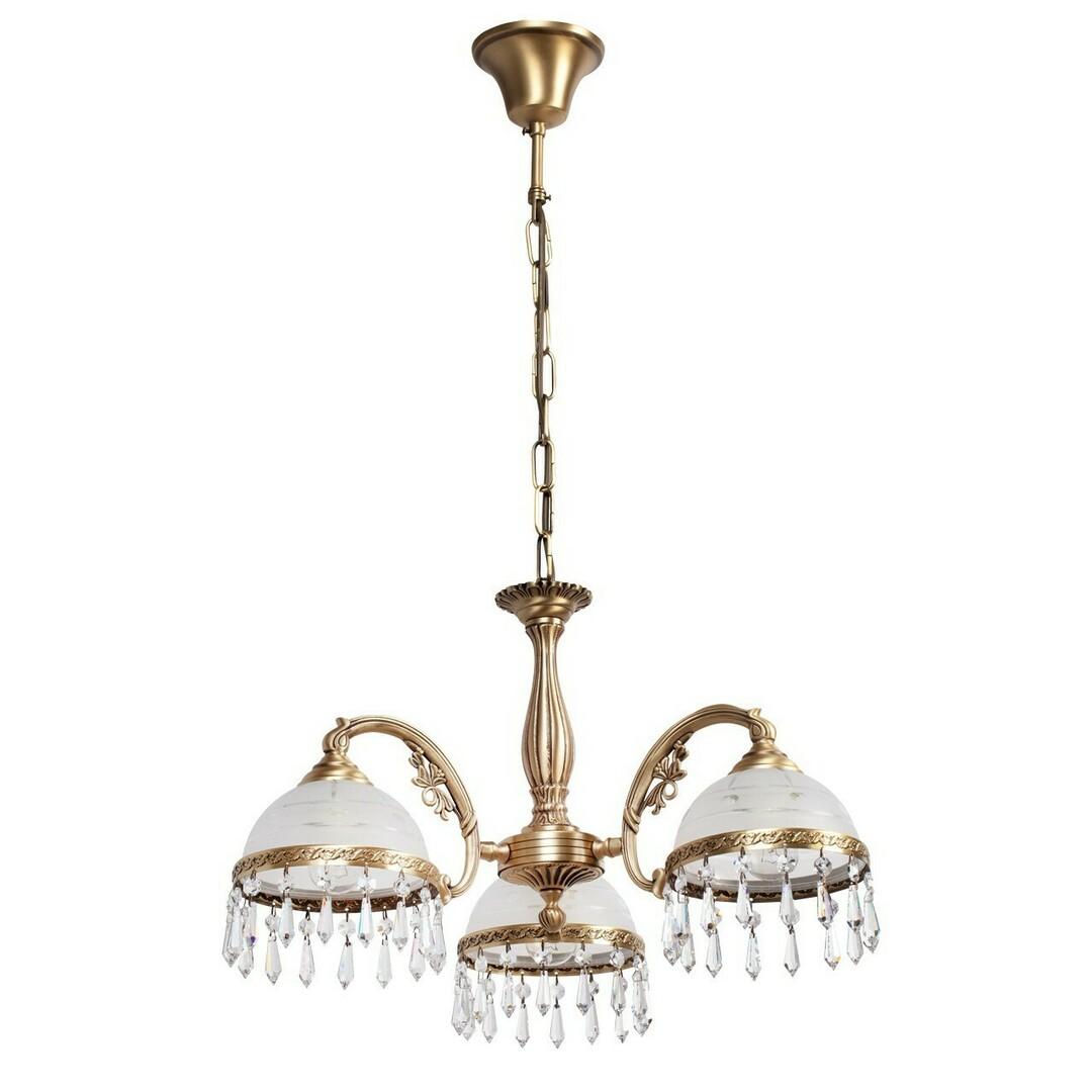 Hanging lamp Amanda Classic 3 Brass - 295016303