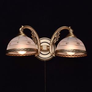 Wall lamp Amanda Classic 2 Brass - 295021302 small 1