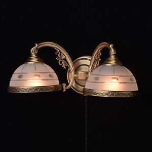 Wall lamp Amanda Classic 2 Brass - 295021302 small 2