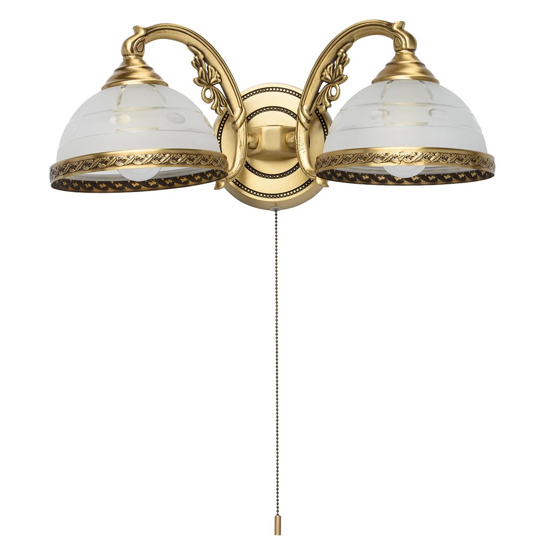 Wall lamp Amanda Classic 2 Brass - 295021302