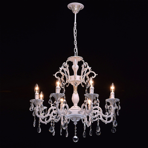 Chandelier Candle Classic 8 White - 301014808 small 2