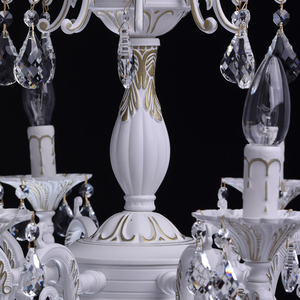 Chandelier Candle Classic 8 White - 301014808 small 8