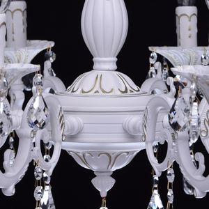 Chandelier Candle Classic 8 White - 301014808 small 10