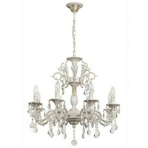 Chandelier Candle Classic 8 White - 301014808 small 0