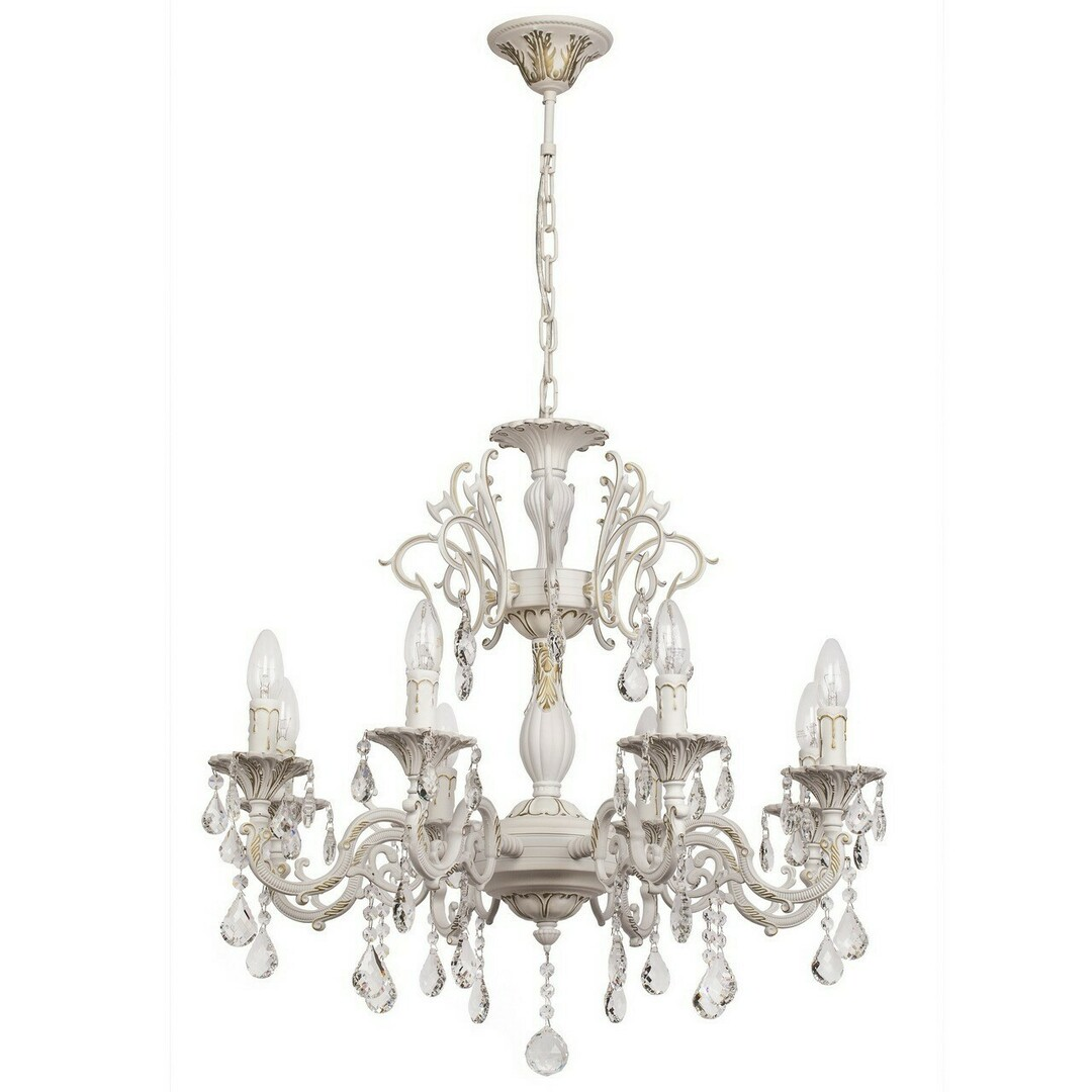 Chandelier Candle Classic 8 White - 301014808