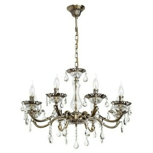 Candle Classic 8 Chandelier Brass - 301014908 small 0