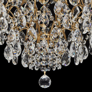 Hanging lamp Isabella Crystal 6 Brass - 351015806 small 10