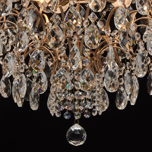 Hanging lamp Isabella Crystal 6 Brass - 351015806 small 11