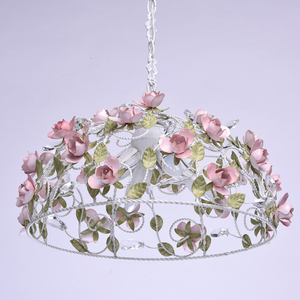Chandelier Provence Flora 4 White - 421013604 small 2