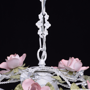 Chandelier Provence Flora 4 White - 421013604 small 6