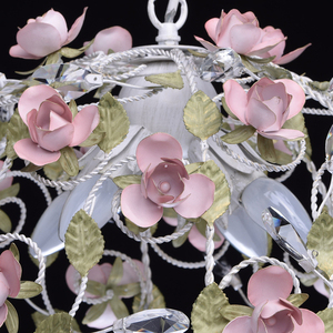 Chandelier Provence Flora 4 White - 421013604 small 7