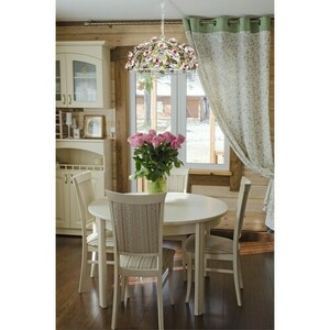 Chandelier Provence Flora 4 White - 421013604 small 10