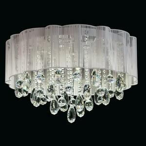 Hanging lamp Jacqueline Elegance 20 Chrome - 465012920 small 1