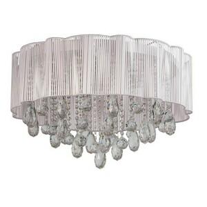 Hanging lamp Jacqueline Elegance 20 Chrome - 465012920 small 0