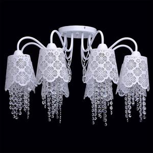Hanging lamp Pauline Elegance 8 White - 472010508 small 1