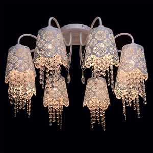 Hanging lamp Pauline Elegance 8 White - 472010508 small 2