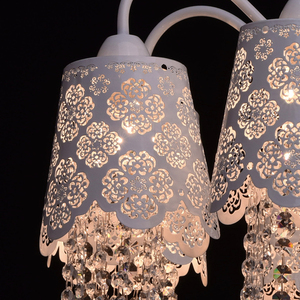 Hanging lamp Pauline Elegance 8 White - 472010508 small 4