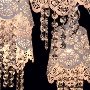 Hanging lamp Pauline Elegance 8 White - 472010508 small 5